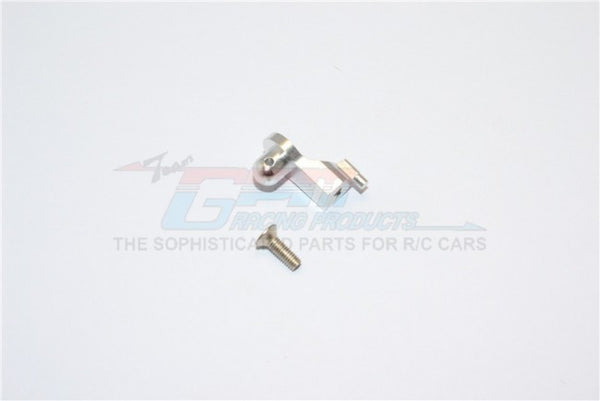 Kyosho Mini Inferno Aluminum Rear Body Posts Mount With Screw - 1Pc Set Silver