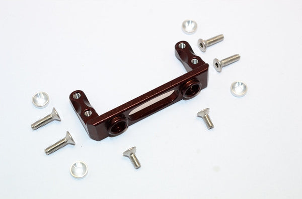 Axial SMT10 Grave Digger (AX90055) & MAX-D (AX90057) Aluminum Servo Mount - 1Pc Set Brown