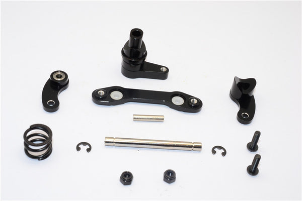 HPI Savage XS Flux Aluminum Steering Assembly With Bearing - 1 Set Black