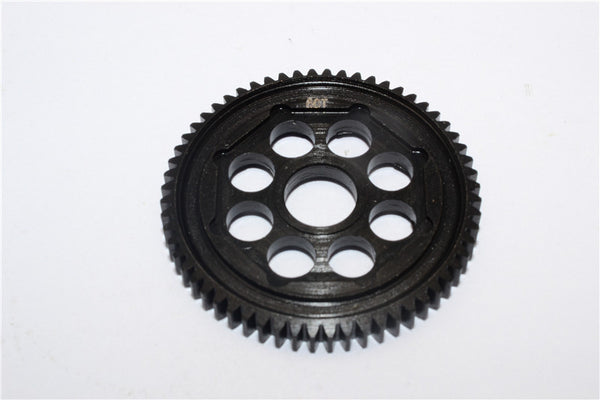 Team Losi Mini 8ight-T Truggy Steel #45 Main Gear (60T) - 1Pc Black