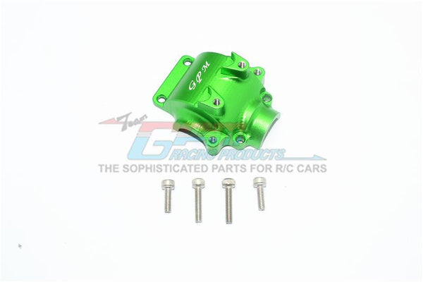 Axial Yeti Jr. SCORE / Yeti Jr. Can-Am Maverick Aluminum Front Gear Box Cover - 1Pc Set Green