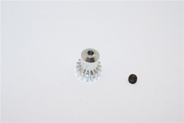 Kyosho Mini-Z AWD Aluminum Motor Gear (15T) With Screw - 1Pc Set Silver