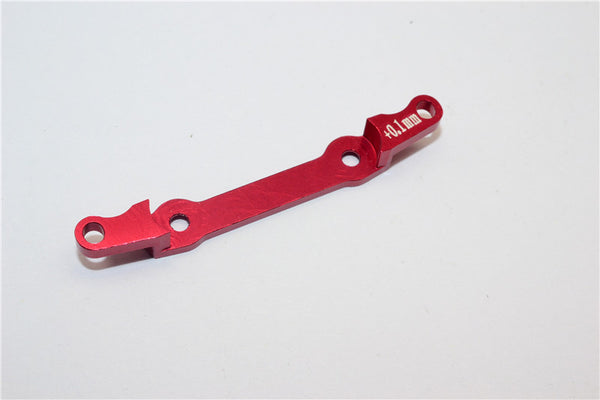 Kyosho Mini-Z AWD Aluminum Rear Knuckle Arm Holder (Toe In +0.1mm) - 1Pc Red