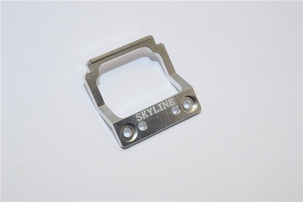 Kyosho Mini-Z AWD Aluminum Front Body Lock Plate For Skyline GT-R (R34) - 1Pc Silver