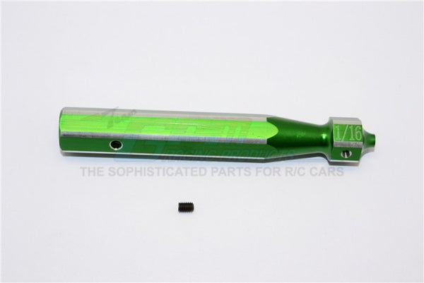 Aluminum Driver Handle (Use With 1/16 Steel Pin) - 1Pc Green