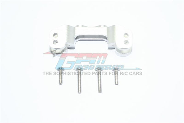 Losi 1/10 Rock Rey 4WD Rock Racer (LOS03009) Aluminum Front Upper Mount For Upper Arm Links - 1Pc Set Silver