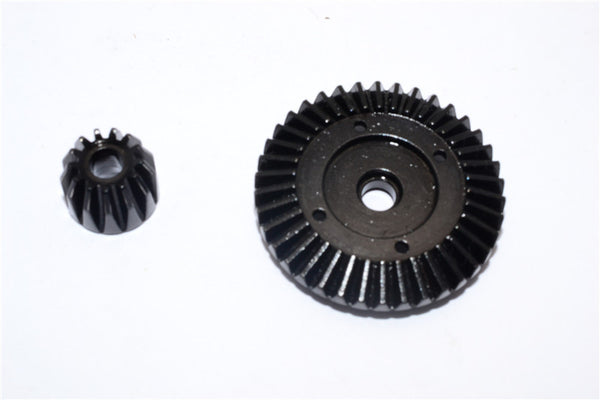 Axial RR10 / Yeti / Wraith Steel Front/Rear Bevel Gear - 2Pcs Black