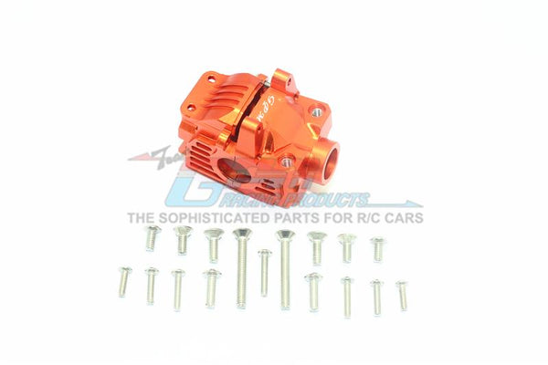 Traxxas Rustler 4X4 VXL (67076-4) Aluminum Front Gear Box -1 Set Orange