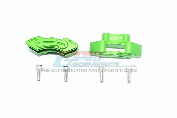Losi 1/6 Super Baja Rey 4X4 Desert Truck Aluminum Front / Rear Brake Caliper - 1Pr Set Green