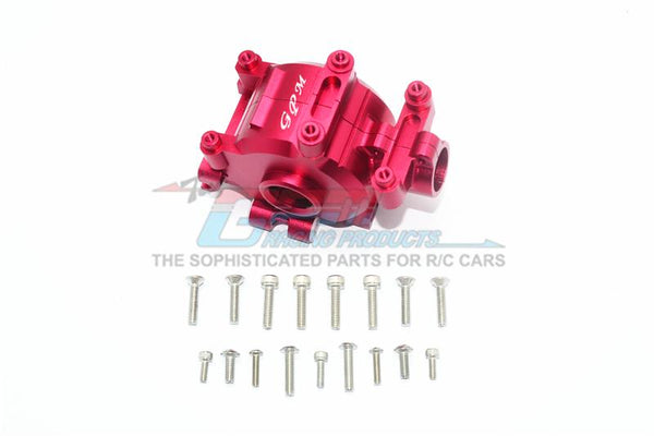 Losi 1/6 Super Baja Rey 4X4 Desert Truck Aluminum Front Gear Box -18Pc Set Red