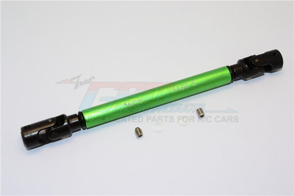 Tamiya CC01 Steel Adjustable Main Shaft With Aluminum Body (Long) - 1Pc Set Green