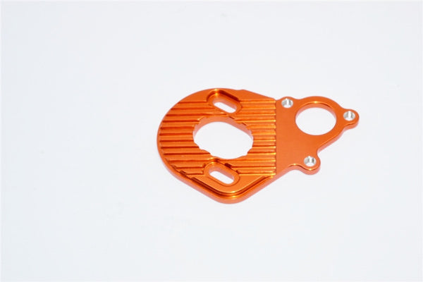 Axial SCX10 & Wraith Aluminum Motor Plate For AX10 Scorpion - 1Pc Orange