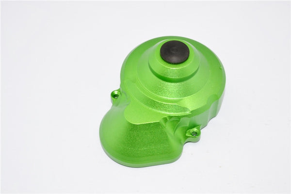 Axial SMT10 Grave Digger (AX90055) Aluminum Transmission Spur Gear Case Cover - 1Pc Set Green