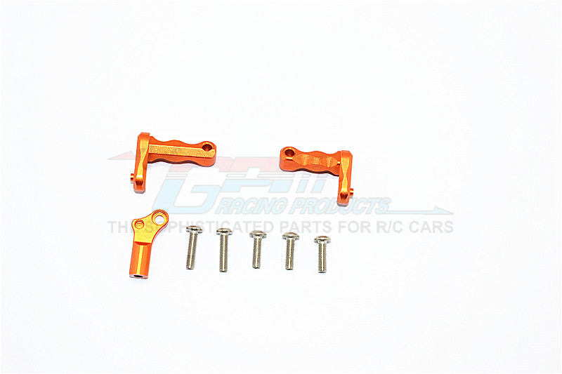 Axial SCX10 II (AX90046) Aluminum Transmission Supporting Mount - 3Pcs Set Orange