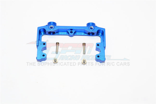 Axial SCX10 II (AX90046, AX90047) Aluminum Rear Bumper Mount - 1Pc Set Blue