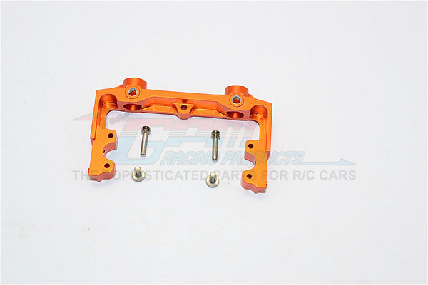 Axial SCX10 II (AX90046, AX90047) Aluminum Rear Bumper Mount - 1Pc Set Orange