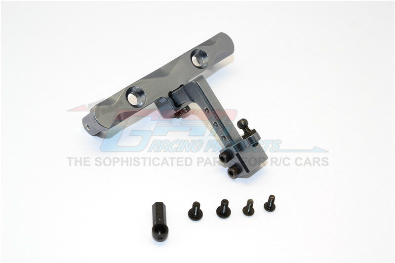 Adjustable Tow Hitch >> Axial Scx10 Aluminum Adjustable Tow Hitch 1 Set Gray Silver