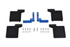 R/C Scale Accessories : Rear Mud Flap For Axial 1/10 SCX10 III Jeep Wrangler AXi03007 / Jeep Gladiator AXi03006 -24Pc Set Blue