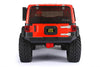 R/C Scale Accessories : Taillight Cover (Style C) For Axial SCX10 III Jeep Jl Wrangler AXI03007 - 4Pc Set Silver