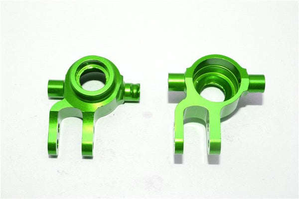 Traxxas Slash 4X4 / Stampede 4X4 VXL / Deegan 38 Fiesta ST Rally Aluminum Front Knuckle Arm - 1Pr Set Green