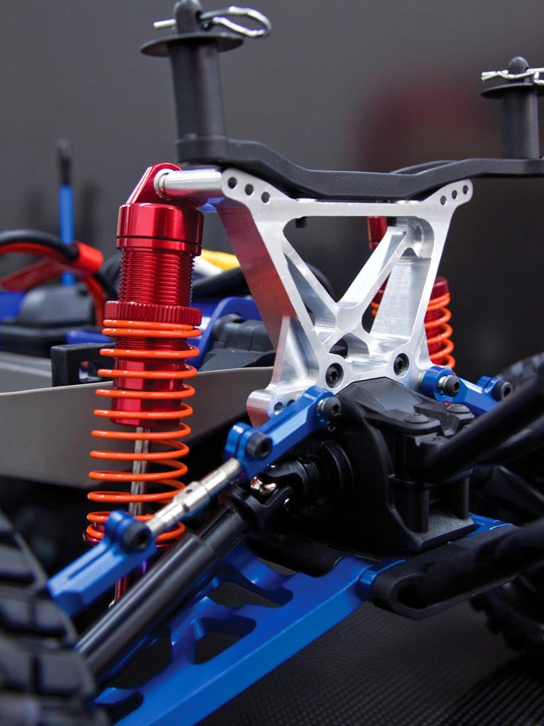 Front Shock Tower Red For Traxxas Slash 4X4 Stampede 4X4 VXL GPM Aluminum Rear