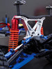 Traxxas Slash 4X4 / Stampede 4X4 VXL / Deegan 38 Fiesta ST Rally Aluminum Front Shock Tower - 1Pc Red