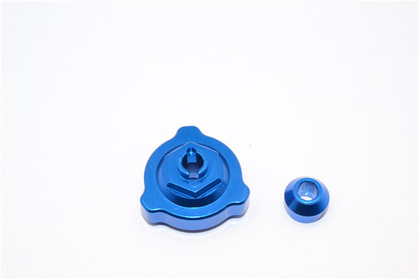Traxxas Slash 4X4 Aluminum Slipper Shaft Bearing Adaptor - 2 Pcs Blue