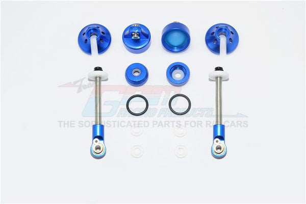 Aluminum Rebuild Kit For GPM Optional Front Damper #SLA087F - 14Pc Set Blue