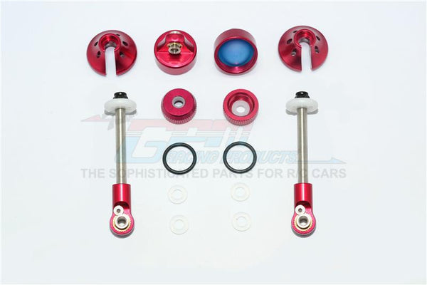 Aluminum Rebuild Kit For GPM Optional Front Damper #SLA087F - 14Pc Set Red