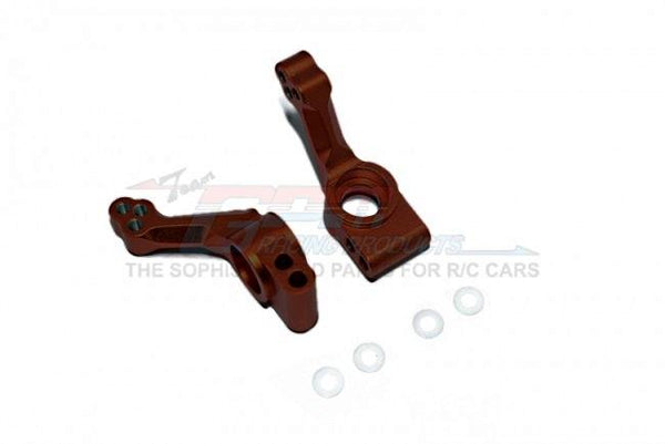 Traxxas Slash Pro 2WD Short-Course Truck (58034) / 2WD F-150 SVT Raptor (58064) Aluminum Rear Knuckle Arm - 1Pr Set Brown