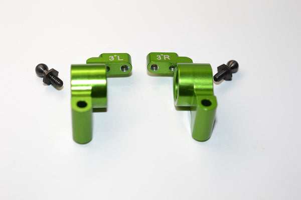 HPI Sprint 2 Aluminum Rear Knuckle Arm - 1Pr Green