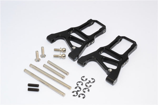 HPI Sprint 2 Aluminum Front Arm With Screws & Pins & E-Clips - 1Pr Set Black