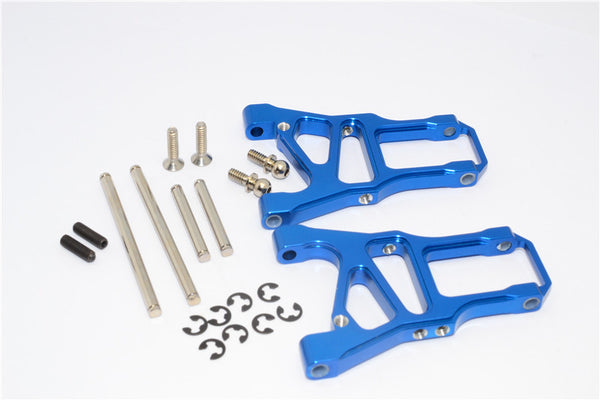 HPI Sprint 2 Aluminum Front Arm With Screws & Pins & E-Clips - 1Pr Set Blue
