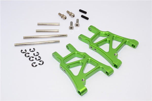 HPI Sprint 2 Aluminum Rear Arm With Screws & Pins & E-Clips - 1Pr Set Green