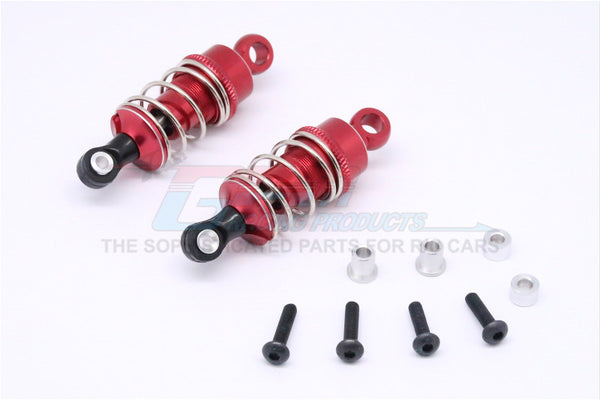 HPI Sport 3 Flux Aluminum Front/Rear Adjustable Shocks (50mm) - 1Pr Set Red