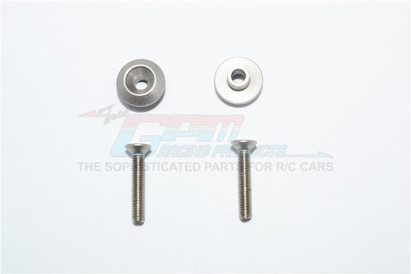 Tamiya T3-01 Dancing Rider Trike Rear Wheel Sst-Screw With Anti-Rattle Washer - 4Pc Set Original Color