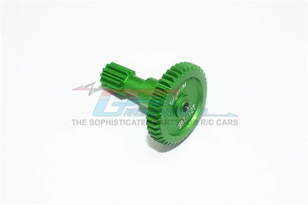 Tamiya T3-01 Dancing Rider Trike Aluminum Rear Main Gear (39T-12T) - 1Pc Green