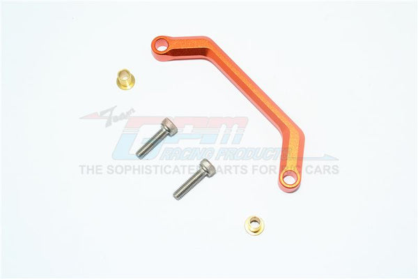 Tamiya T3-01 Dancing Rider Trike Aluminum Steering Link - 5Pc Set Orange