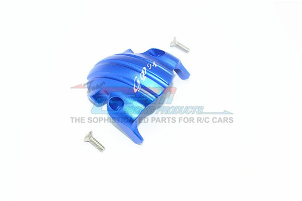Tamiya T3-01 Dancing Rider Trike Aluminum Front Skid Plate For Front Wheel - 1Pc Set Blue