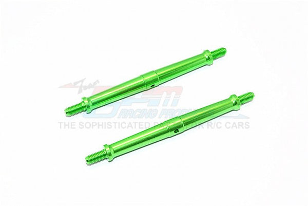 Aluminum 5mm Clockwise And Anticlockwise Turnbuckles (Total Length 101mm - Both Side Thread 11mm) - 1Pr Green