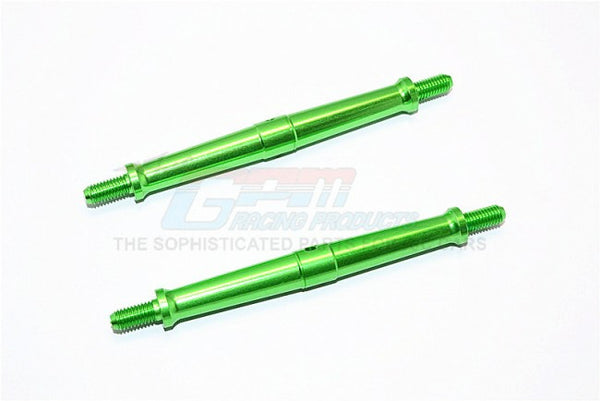 Aluminum 5mm Clockwise And Anticlockwise Turnbuckles (Total Length 96mm - Both Side Thread 11mm) - 1Pr Green