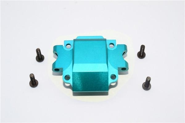 Tamiya TA01 / TA02 / M1025 HUMMER Aluminum Front Gear Box (Bottom) Part - 1Pc Set Sky Blue