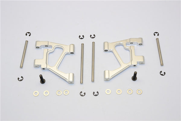 Tamiya TA02 Aluminum Rear Lower Arm Set - 1Pr Silver