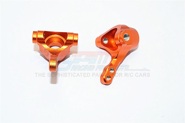 Tamiya TA02T Aluminum Front Knuckle Arm - 1Pr Orange
