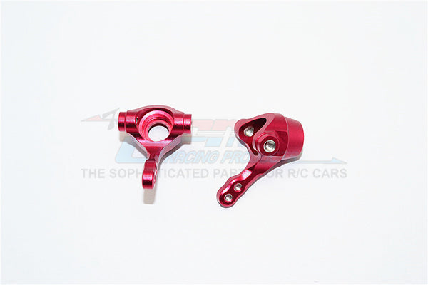 Tamiya TA02T Aluminum Front Knuckle Arm - 1Pr Red