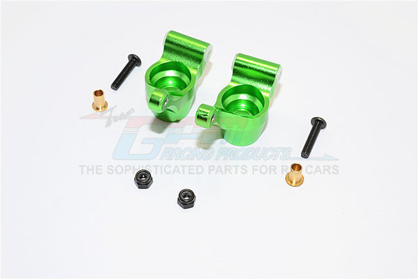 Tamiya TA02T Aluminum Rear Knuckle Arm - 1Pr Set Green