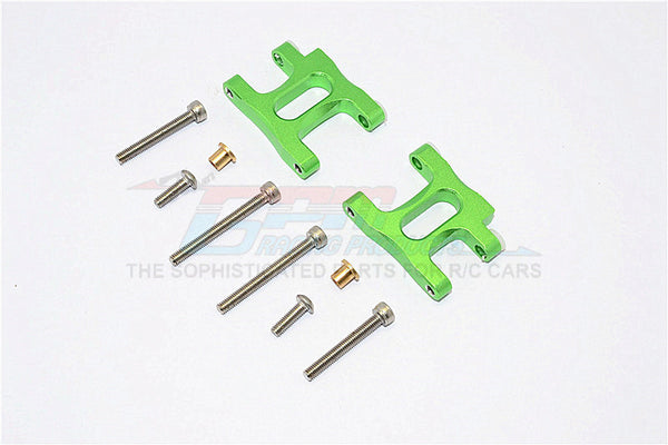 Tamiya TA02T Aluminum Front Suspension Arm - 1Pr Set Green