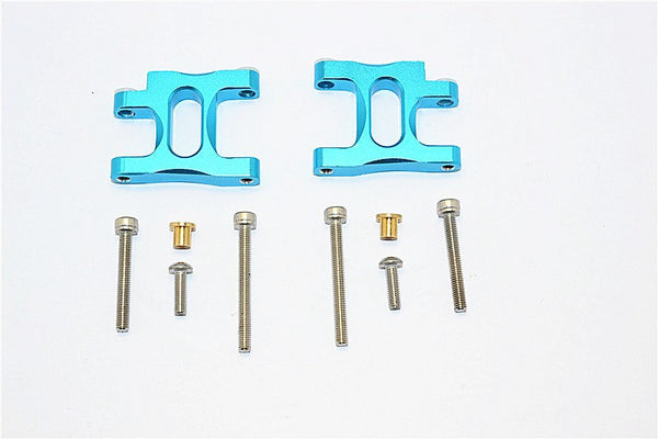 Tamiya TA02T Aluminum Front Suspension Arm - 1Pr Set Sky Blue