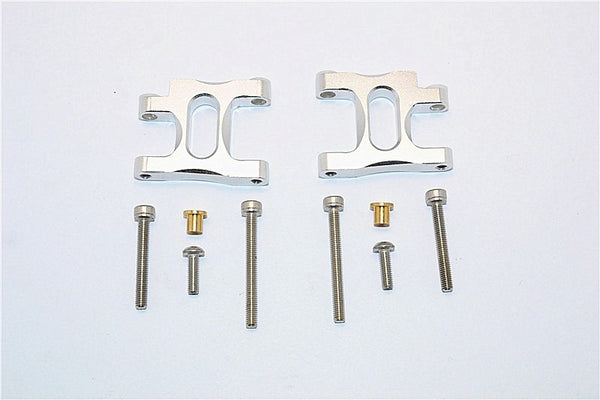 Tamiya TA02T Aluminum Front Suspension Arm - 1Pr Set Silver