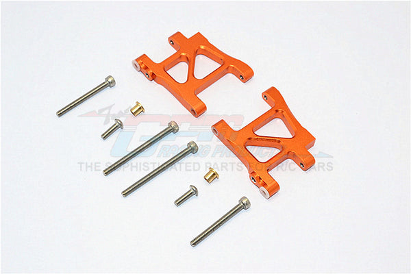 Tamiya TA02T Aluminum Rear Suspension Arm - 1Pr Set Orange